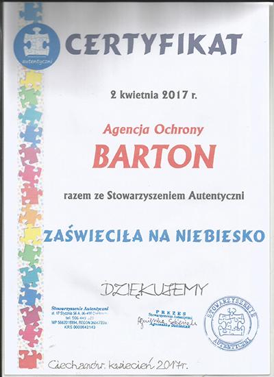Referencja Agencja Ochrony Barton